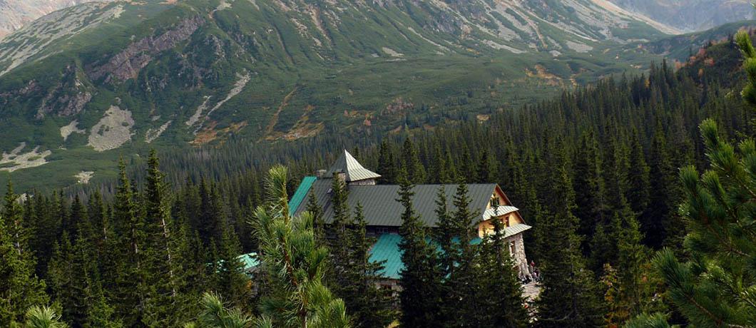 schronisko w Tatrach