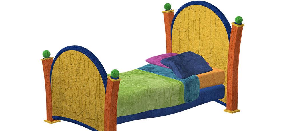 łóżko na nocleg